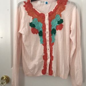 Anthropologie Vintage Inspired Cardigan